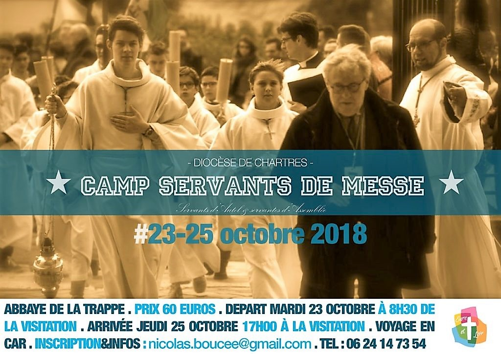 2018 servants dautel camp octobre