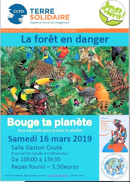 2019 BOUGE TA PLANETE AFFICHE