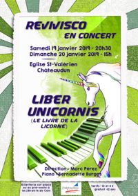 2019 Concert Revivisco licorne