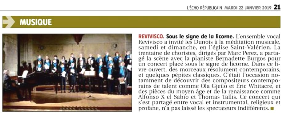 2019 REVIVISCO JANVIER ECHO